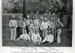 Cricket - St George Cricket Club Crica 1861TN